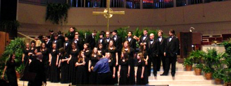 Lycoming College Choir - Coral Ridge Presbyterian Church 2008